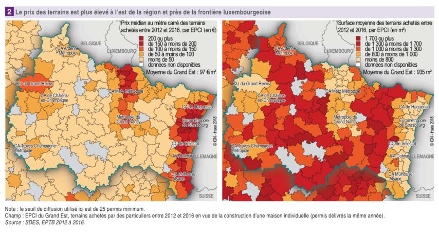 Où sont les terrains les moins chers en France ?