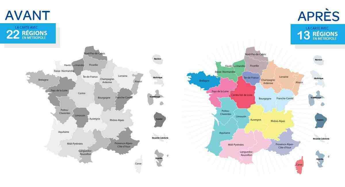Quelles sont les régions les moins peuplées de France ?