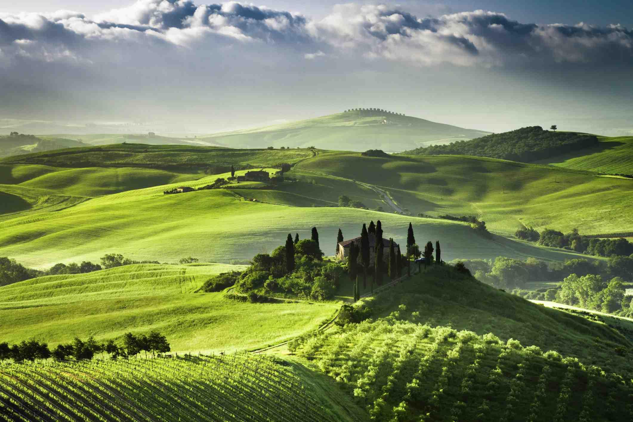 Quel est le paysage le plus impressionnant?