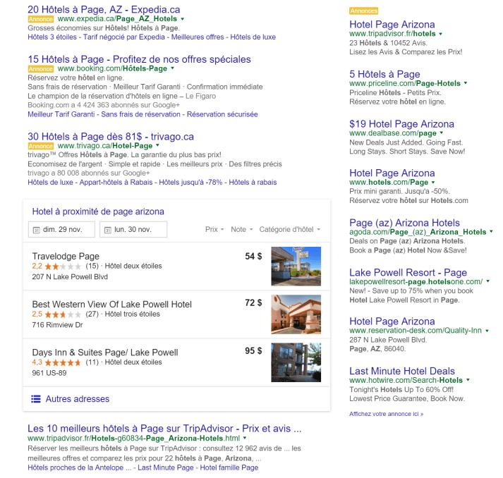 Comment réserver un hôtel?
