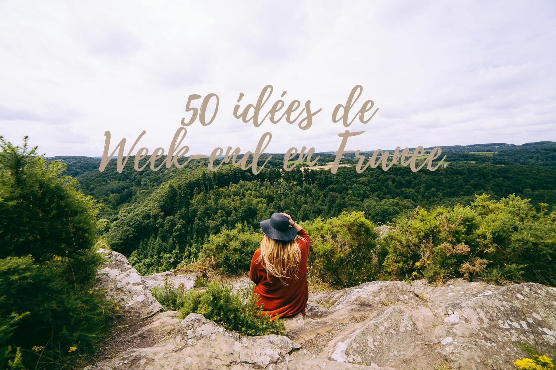 Où partir seul en France le temps d'un week-end?