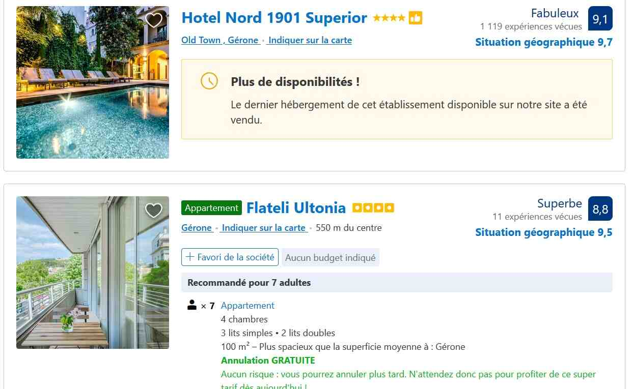 Comment contacter booking pour une annulation ?