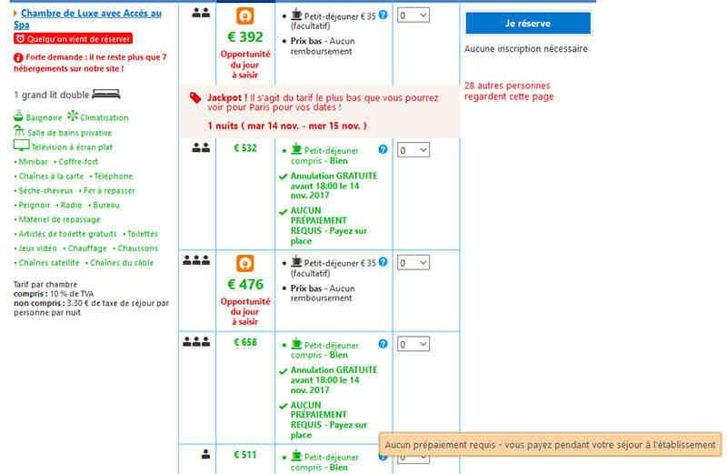 Comment envoyer un message à booking com?