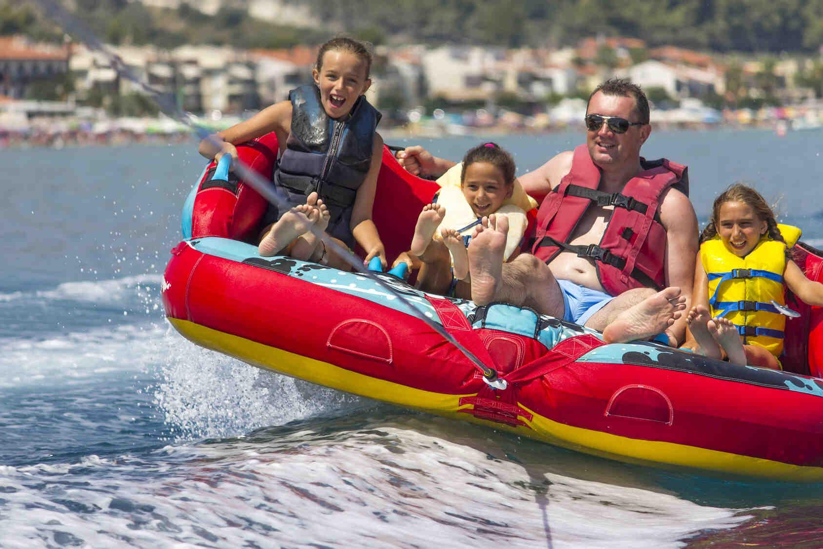 Où allez-vous dans le sud de la France avec votre famille?