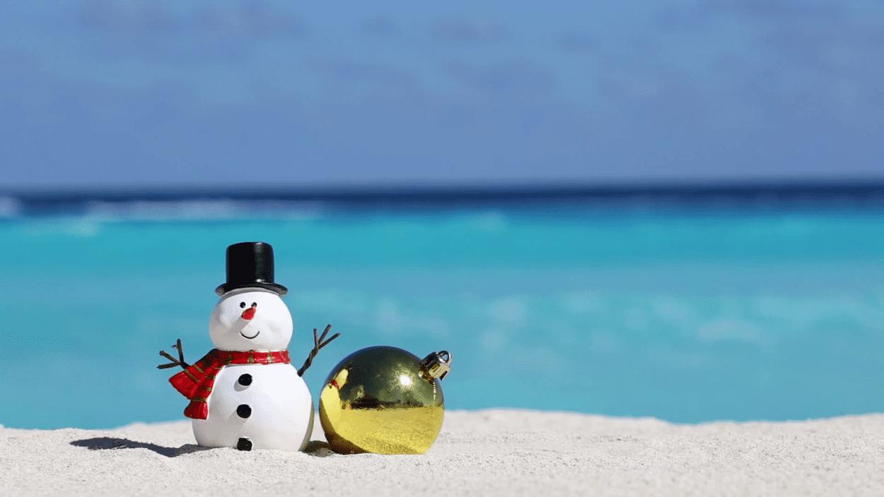 Où aller à la plage en décembre ?