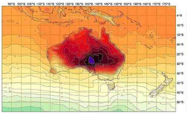 Où est la chaleur en janvier ?