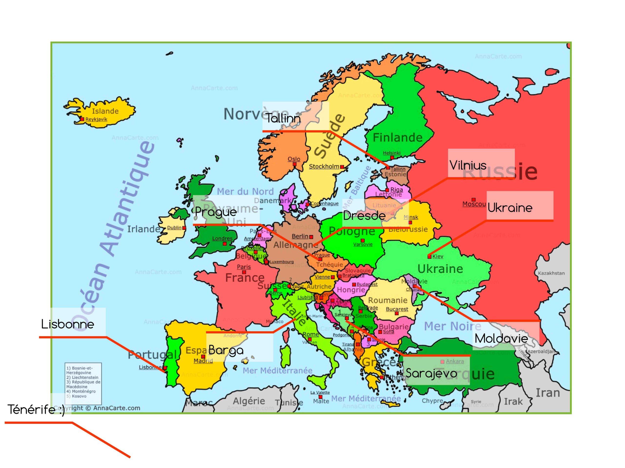 Où partir en Europe pas cher ?