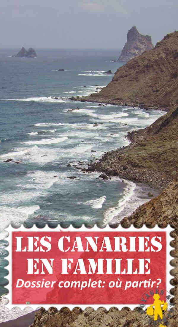 Quelle est l'île la plus chaude des Canaries ?