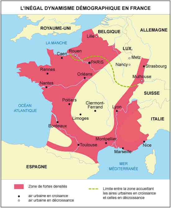 Quelles sont les régions de France les plus résidentielles ?